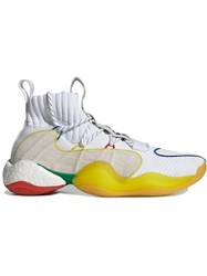 Adidas By Pharrell Williams Multicoloured Crazy Byw Lvl Sneakers White