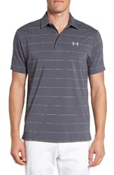 Under Armour Men's 'Playoff' Short Sleeve Polo Water Steel