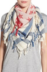 Women's Collection Xiix 'Flag' Square Scarf