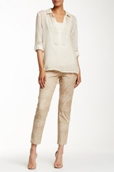 Miraclebody Jeans Judy Minmar Ankle Pant Beige