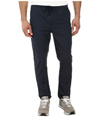 Calvin Klein Jeans Snappy Poplin Travel Pant Deep Ocean Blue Men's Casual Pants