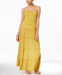Inc International Concepts Tiered Convertible Maxi Skirt Only At Macy's Roman Gold