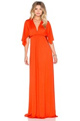 Rachel Pally Long Caftan Dress Orange