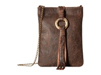 Leather Rock Ce47 Bomber Chocolate Rough Brown Handbags