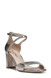 Via Spiga Women's Wendi Ankle Strap Sandal Rose Gold Leather