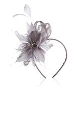 Coast Macey Floral Fascinator Grey
