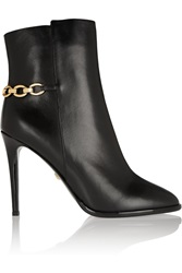 Diane Von Furstenberg Beckett Leather Ankle Boots