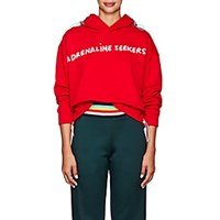 Mira Mikati Adrenaline Seeker Cotton Terry Hoodie Red