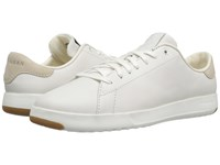 Cole Haan Grandpro Tennis Optic White White Women's Lace Up Casual Shoes