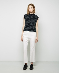 3.1 Phillip Lim Cropped Flared Pant White