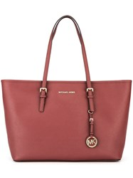 Michael Michael Kors Shopper Tote Red