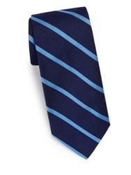 Polo Ralph Lauren Bar Stripe Silk Tie Blue Navy