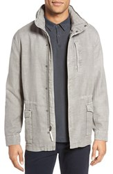 James Perse Men's Modern Utility Jacket Dapple Pigment