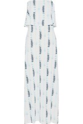 Tart Collections Strapless Printed Stretch Modal Maxi Dress Multicolor