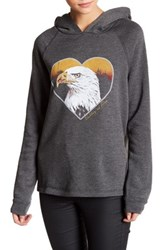 Project Social T Valley Of Fire Hoodie Gray
