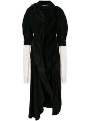 Aganovich Asymmetric Velvet Dress 60