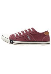 Mustang Trainers Bordeaux