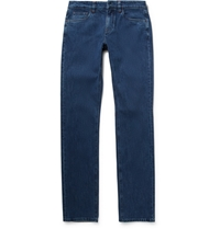 Loro Piana Straight Leg Denim Jeans Blue