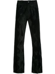 Martine Rose Faux Fur Straight Leg Trousers 60