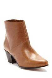 Sixty Seven Jenna Heeled Ankle Bootie Brown