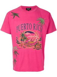 Creatures Of The Wind Puerto Rico T Shirt Cotton Pink Purple