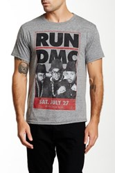 Bravado Run Dmc Tee Gray