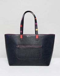 Paul Smith Ps By Large Tote Bag Navy