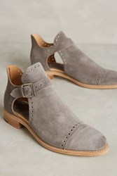 Anthropologie The Office Of Angela Scott Mr. Ed Cutout Oxfords Brown 40 Euro Oxfords
