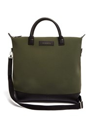 Want Les Essentiels O'hare Shopper Neoprene Tote Bag Khaki