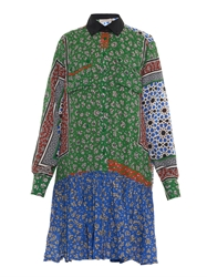 Preen Line Assia Patchwork Print Shirtdress