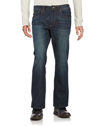 Tommy Bahama Big And Tall Barbados Authentic Straight Jeans Dark Indigo