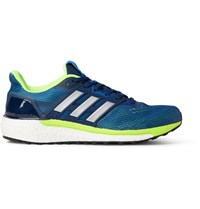 Adidas Sport Supernova Rubber Trimmed Mesh Sneakers Blue