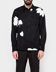 3.1 Phillip Lim Ls Patch Pocket Shirt Black