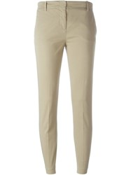 Aspesi Skinny Chino Trousers Nude And Neutrals