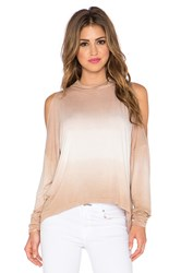 Gypsy 05 Open Shoulder Top Tan