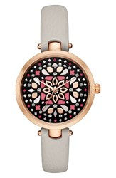 Kate Spade Women's New York Holland Mosaic Leather Strap Watch 34Mm