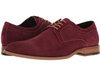 Stacy Adams Dunstan Burgundy Suede Men's Shoes