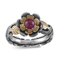 Emma Chapman Jewels Buttercup Ruby Ring Red