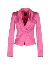 Pinko Black Suits And Jackets Blazers Women Fuchsia