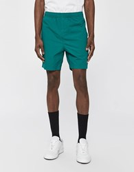 Obey Easy Cotton Short In Blue Green