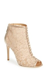 Women's Badgley Mischka 'Nerina' Lace Bootie 4' Heel