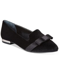 Alfani Women's Zurry Pointed Toe Flats Only At Macy's Women's Shoes Black