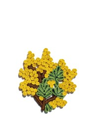 Seletti Mimosa Florigraphie Straw Trivet