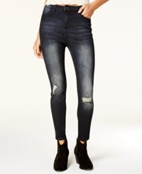 Celebrity Pink Juniors' High Rise Skinny Ankle Jeans Stellar