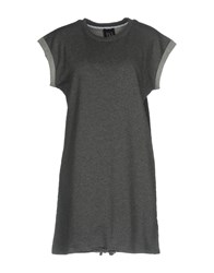 Twin Set Jeans Short Dresses Grey