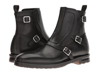 Alexander Mcqueen Monk Strap Ankle Boot Black
