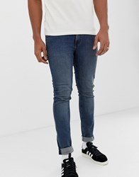 Cheap Monday Tight Jeans In Steel Blue Steel Blue