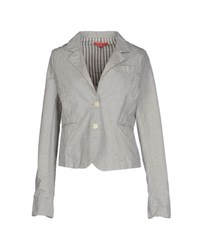 Manila Grace Denim Suits And Jackets Blazers Women Light Grey