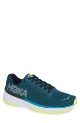 Hoka One One Cavu Running Shoe Caribbean Sea Black