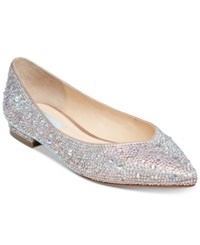 Blue By Betsey Johnson Jude Evening Flats Champagne